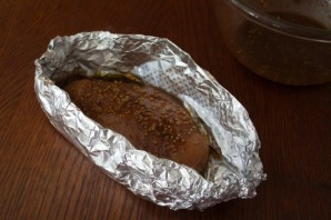 Куриное мясо в духовке - фото шаг 4