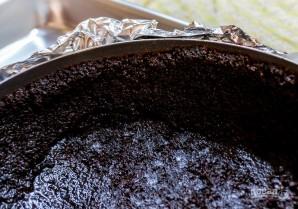 Кофейный чизкейк с шоколадным ганашем - фото шаг 2