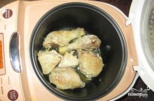 Курица в кисло-сладком соусе в мультиварке - фото шаг 5