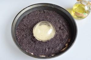 Пирог с шоколадной пастой, маком и орехами - фото шаг 5