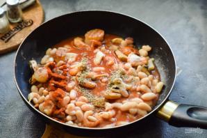 Фасоль с морепродуктами - фото шаг 6