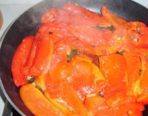 Перец на сковороде - фото шаг 5