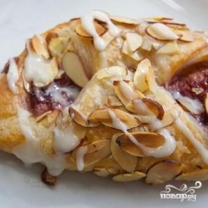 Датские булочки с марципаном и джемом - фото шаг 8