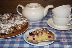 Вишневый пирог из замороженной вишни - фото шаг 8