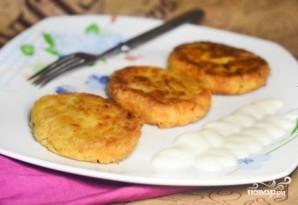 Картофельные котлеты с геркулесом - фото шаг 8