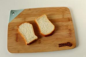 Сэндвич с котлетой - фото шаг 4