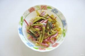 Картофельный салат с колбасой - фото шаг 4