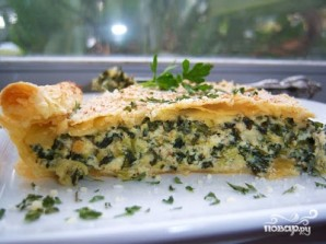 Слоеный пирог с брокколи - фото шаг 6