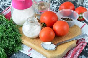 Сладкие помидоры с лимонной кислотой на зиму - фото шаг 1