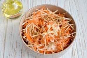 Салат с сельдереем - фото шаг 5