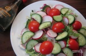 Новый вкусный салат - фото шаг 2