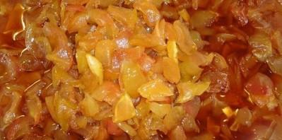 Варенье из яблок пятиминутка - фото шаг 3