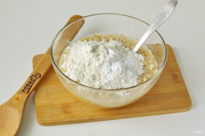 Овсяное печенье на молоке - фото шаг 4