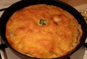 Пирог с бараниной и картошкой - фото шаг 8