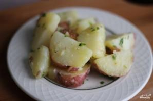 Картофельный салат без майонеза - фото шаг 6