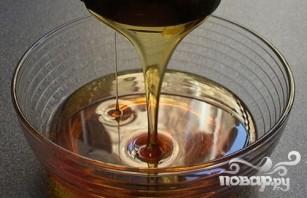 Витаминный напиток из персика и черники - фото шаг 2