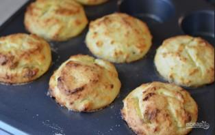Творожные кексы с изюмом - фото шаг 3