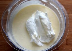 Маковый торт с йогуртовым муссом и белым шоколадом - фото шаг 12
