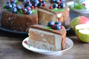 Муссовый яблочный торт - фото шаг 42