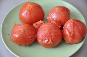 Горлодёр из помидоров с чесноком - фото шаг 3