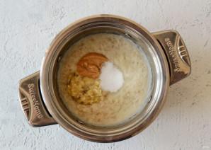 Каша с арахисовой пастой - фото шаг 4