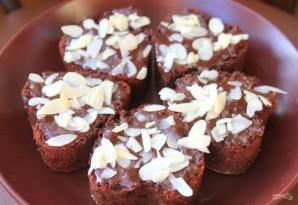 Быстрые шоколадные пирожные - фото шаг 9