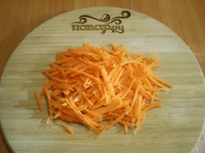 Салат из свежей морковки - фото шаг 3