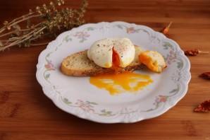 Яйцо пашот в пакете - фото шаг 5