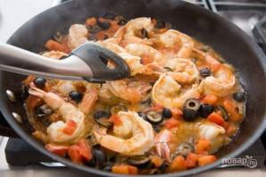 Орзо с креветками и оливками - фото шаг 5