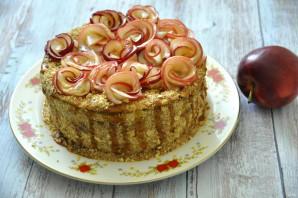 Медово-яблочный торт - фото шаг 40