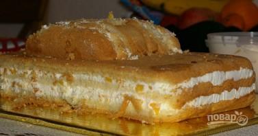"Торт ""Молния Маквин"" - фото шаг 1"