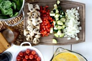 Фриттата с овощами и сыром - фото шаг 2