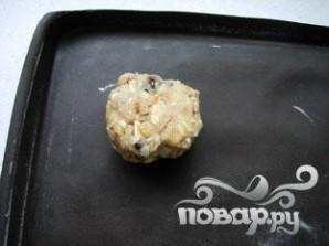Овсяное печенье с миндалем и шоколадом - фото шаг 7