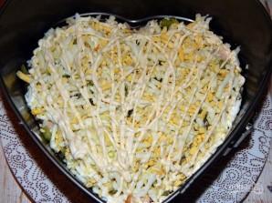 Салат с киви и ветчиной - фото шаг 5