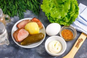 Салат с ростбифом - фото шаг 1