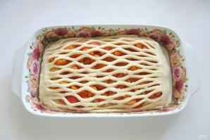 Дрожжевой пирог с абрикосами - фото шаг 8