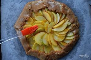 Галета с яблоками и грушей - фото шаг 7