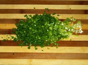Салат с копченым колбасным сыром - фото шаг 4