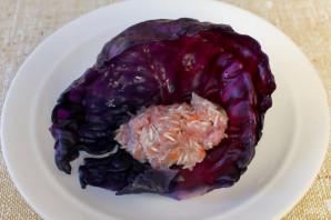 Голубцы из красной капусты - фото шаг 5
