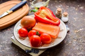 Приправа из овощей на зиму - фото шаг 1