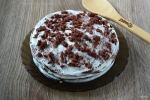 Нежный и вкусный тортик на кефире - фото шаг 13