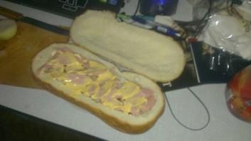 Мужской бутерброд - фото шаг 7