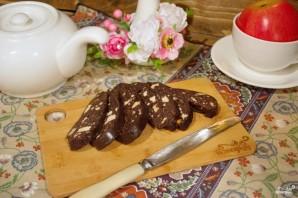 Шоколадная колбаса - фото шаг 11