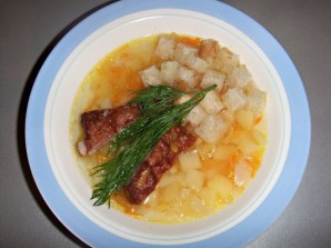Суп с ребрышками в мультиварке - фото шаг 5