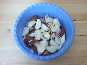 Шашлык из говядины в соевом соусе - фото шаг 3