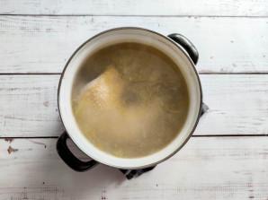 Томатный суп с курицей и рисом - фото шаг 2