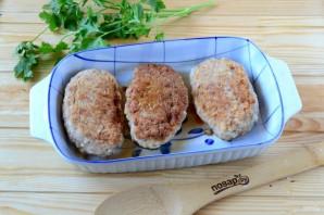 Котлеты под шубой с помидорами и сыром - фото шаг 4