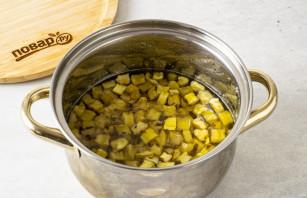 Варенье из кабачков и мяты - фото шаг 7