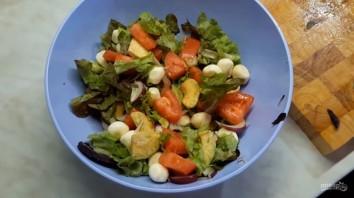 Салат с авокадо (летний, легкий) - фото шаг 2