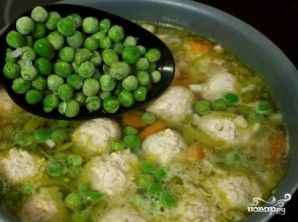 Диетический суп с фрикадельками - фото шаг 5